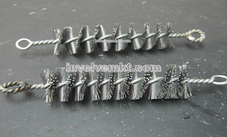 twisted wire brush Singapore, twisted in wire brush, wire brush