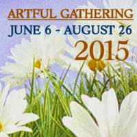 I'll be teaching on line with ARTFUL GATHERING