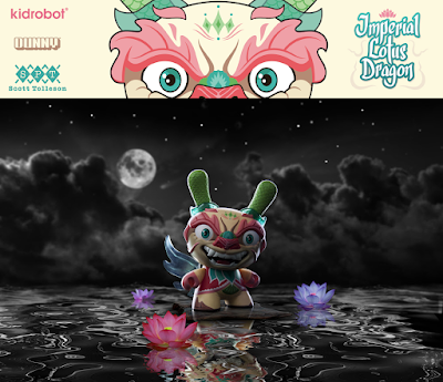 "Imperial Lotus Dragon 8"" Dunny by Scott Tolleson x Kidrobot"