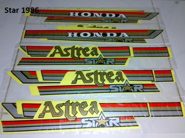 Stiker Striping Motor Lawas Honda C Series