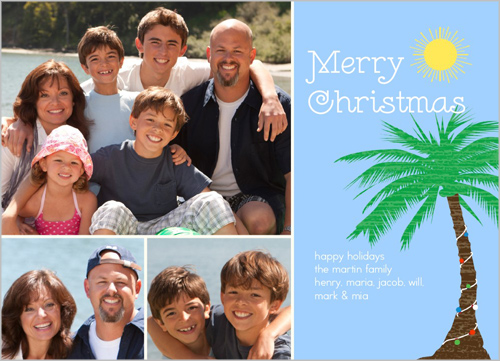 i want to stick to the same theme this year especially since our pictures are being taken on the beach shutterfly has loads of cute cards and thankfully - Beach Themed Christmas Cards