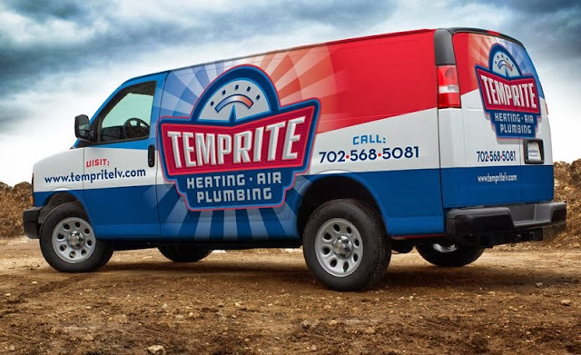 best plumbing truck wrap design
