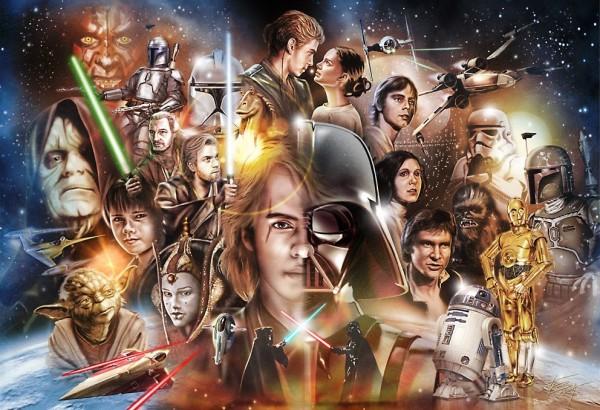 El juego de adivinanzas del alfabeto Star Wars ¿Puedes nombrarlos a todos?