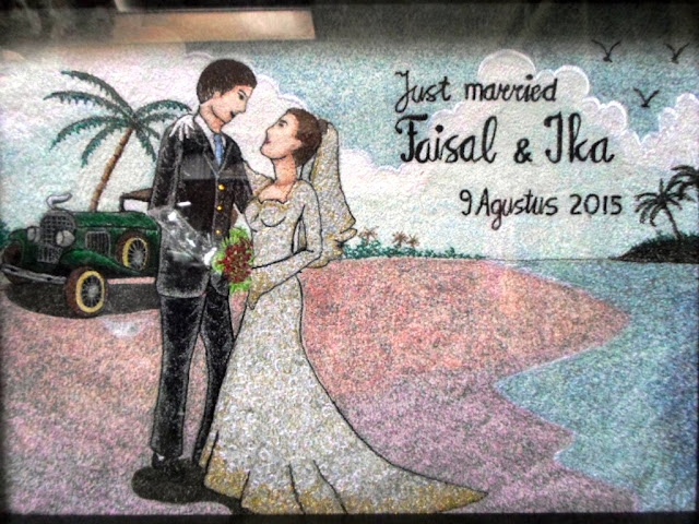 wedding gift embroidery painting
