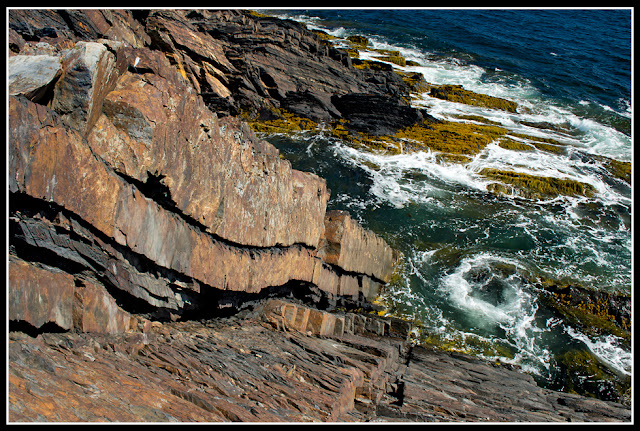 Nova Scotia, Gaff Point; Cliffs, Ocean; Atlantic