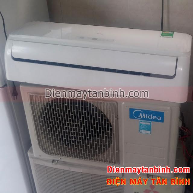 Thanh lý máy lạnh Midea 1hp còn bảo hành chính hãng
