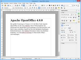 Download Free Software Apache OpenOffice 4.0.0