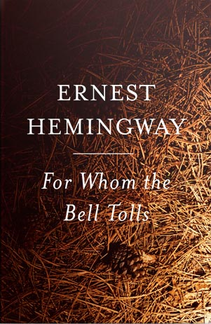 an interpretation of ernest hemingways for whom the bell tolls Summaries spain in the 1930s is the place to be for a man of action like robert jordan there is a civil war going on and jordan who has joined up on the side that appeals most to idealists of that era -- like ernest hemingway and his friends -- has been given a high-risk assignment up in the mountains he awaits the right.