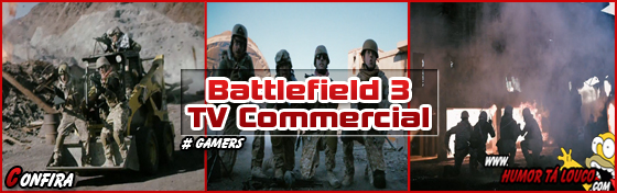 Battlefiel 3 - TV Commercial