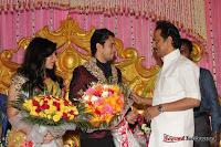 Celebraties at Actor Bharat n Jessy Wedding Reception Photos+%252873%2529 Actor Bharath n Jessy Wedding Photos