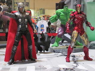 Captain America, Scarlett Johansson, BlackWidow, Avengers, Hulk, Ironman, Davao City, Gaisano Mall, Mindanao Toy Convention 2012, One Piece, GI Joe, Gundam, Action Figures, Collectibles