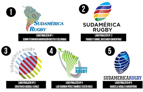 Elegí el nuevo logo Sudamérica Rugby