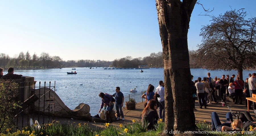The Serpentine Bar & Kitchen - coffee stop, Hyde Park