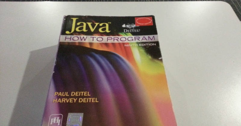 java how to program pdf 9th edition