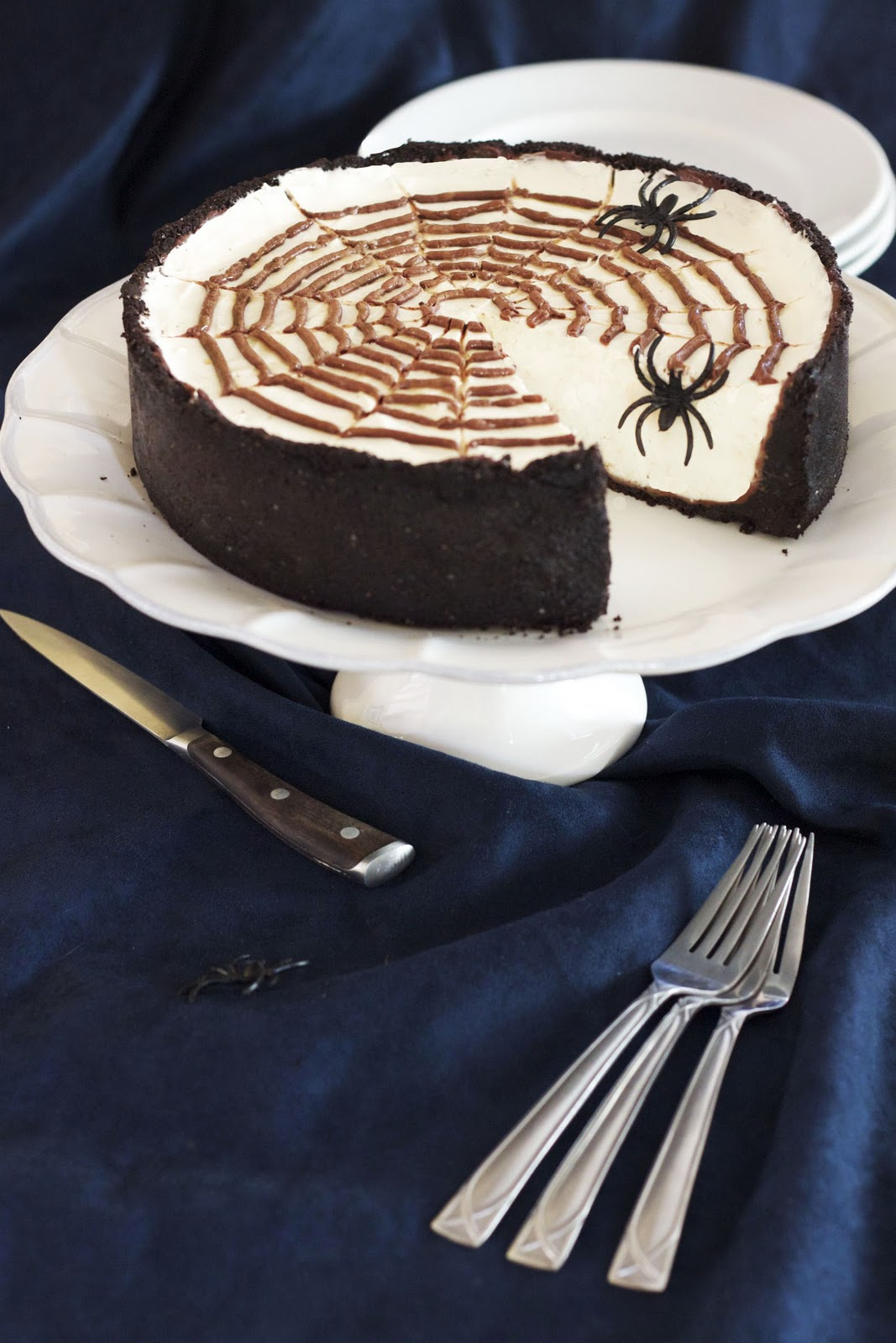 cheesecake no bake spiderweb cheesecake martha stewart s no bake no ...