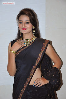 Actress-Niloufer-in-Saree-Stills