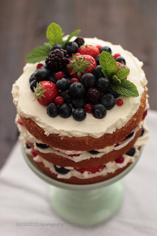 red fruits healthy fruit cake