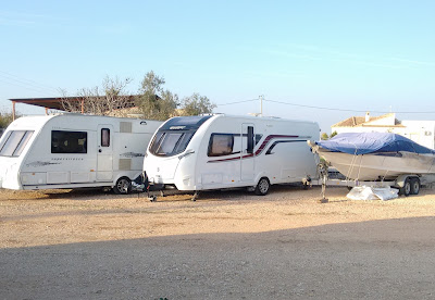 Caravan and boat storage on the Costa Blanca, Spain