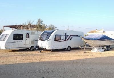 Caravan and boat storage on the Costa Blanca, Spain