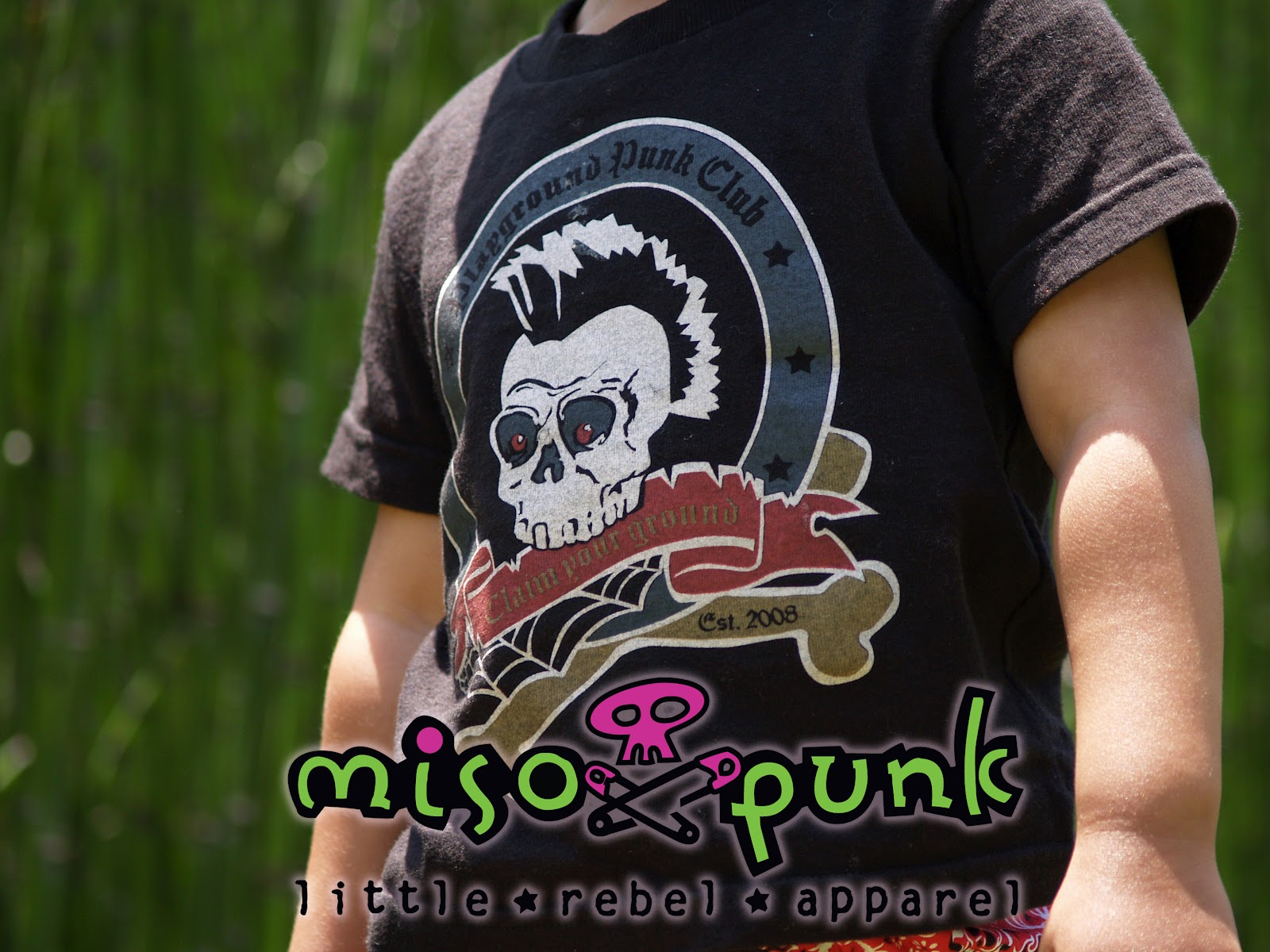 Punk Baby Clothing Miso Punk s Playground Punk kids romper or Tee