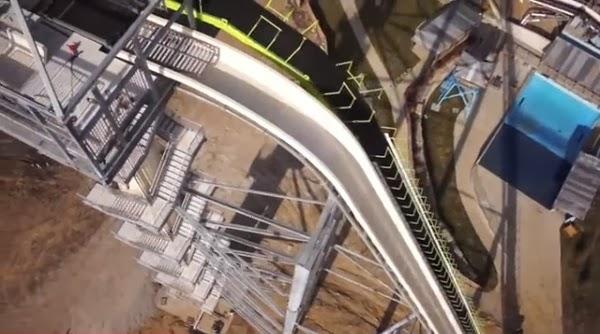 Este es el tobogán de agua más alto del mundo - Es más alto que las cataratas del Niágara