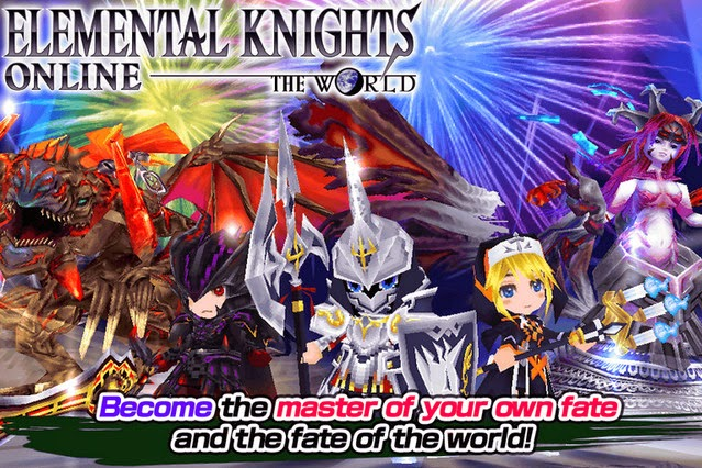 RPG Elemental Knights Platinum apk screenshot