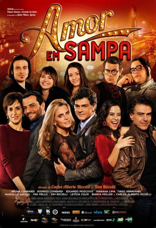 Filme Poster Amor em Sampa