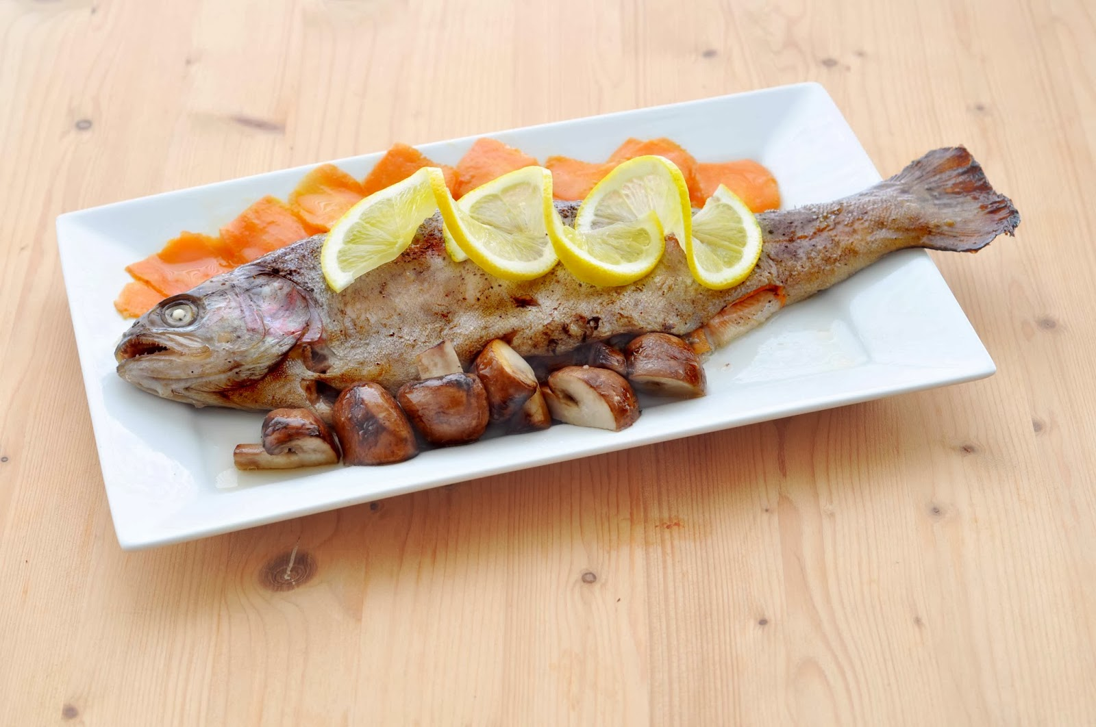 Stuffed Rainbow Trout