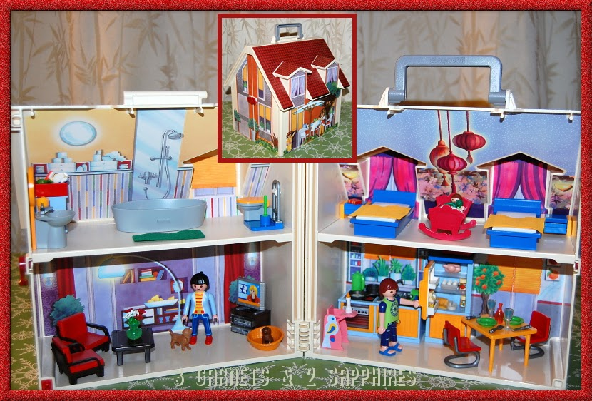 Playmobil Take Along Christmas House Playmobil Take Along Modern