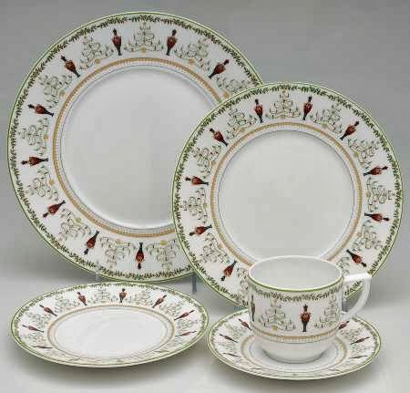 This is one of my favorites Grenadiers from Bernardaud  sc 1 st  Horse Country Chic - Blogger & Horse Country Chic: Holiday Dinnerware