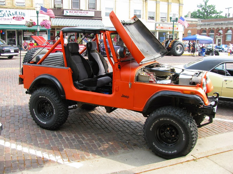 Modifikasi Mobil Jeep CJ-7 Tahun 83