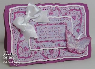Our Daily Bread designs Flowering Faith Designer Angie Crockett