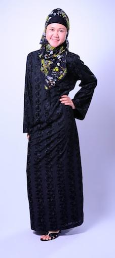 Rumah Jilbab Khairani Jahit Dan Boutique Gamis Hitam