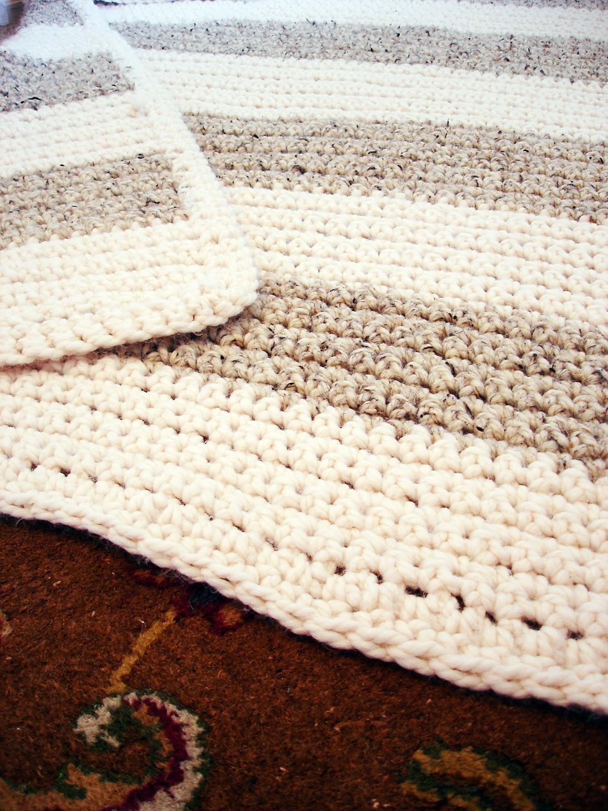Jessica Kenenske: Very Simple Crochet Blanket