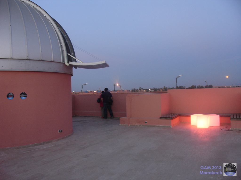 astronomie marrakech  r u00e9sum u00e9 de la soir u00e9e eclipse partielle de lune
