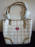 COACH PEYTON TATTERSALL TOTE 20093