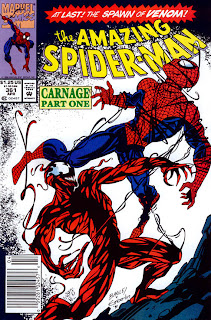 Amazing Spider-Man #361 cover image - 1st full Carnage