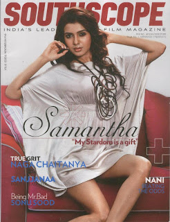 Samantha Pictures on the cover of Southscope Magazine Picture Shoot Spicyu Samantha