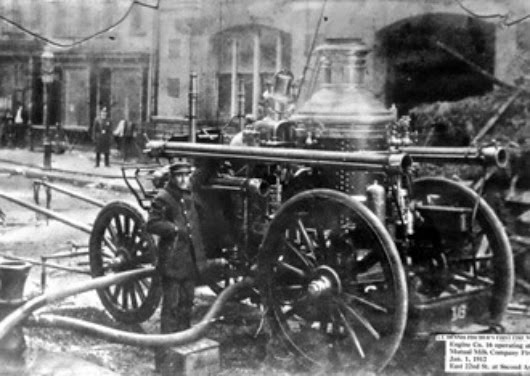 Larry (Lawrence) Kreger-FDNY Engine 16, founded 1865
