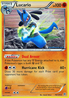 Lucario Plasma Storm Pokemon Card Review