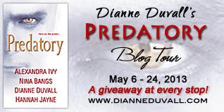 Dianne Duvall's Predatory Blog Tour