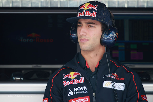 Daniel Ricciardo has been signed to drive for Red Bull in 2014