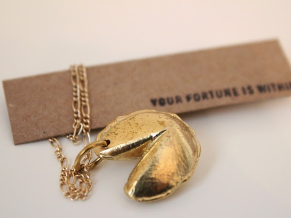 GIVEAWAY: Fortune and Frame Necklaces