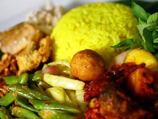 Resep Nasi Kuning hari lebaran