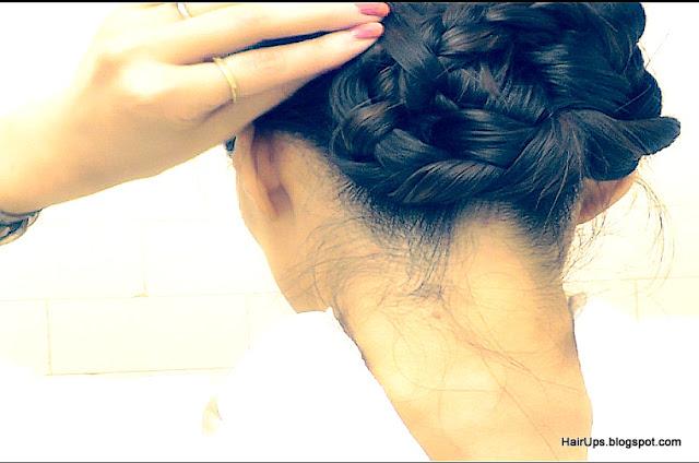 Hair Tutorial Video Easy Wet Hair Braid Ballerina Bun Hairstyles