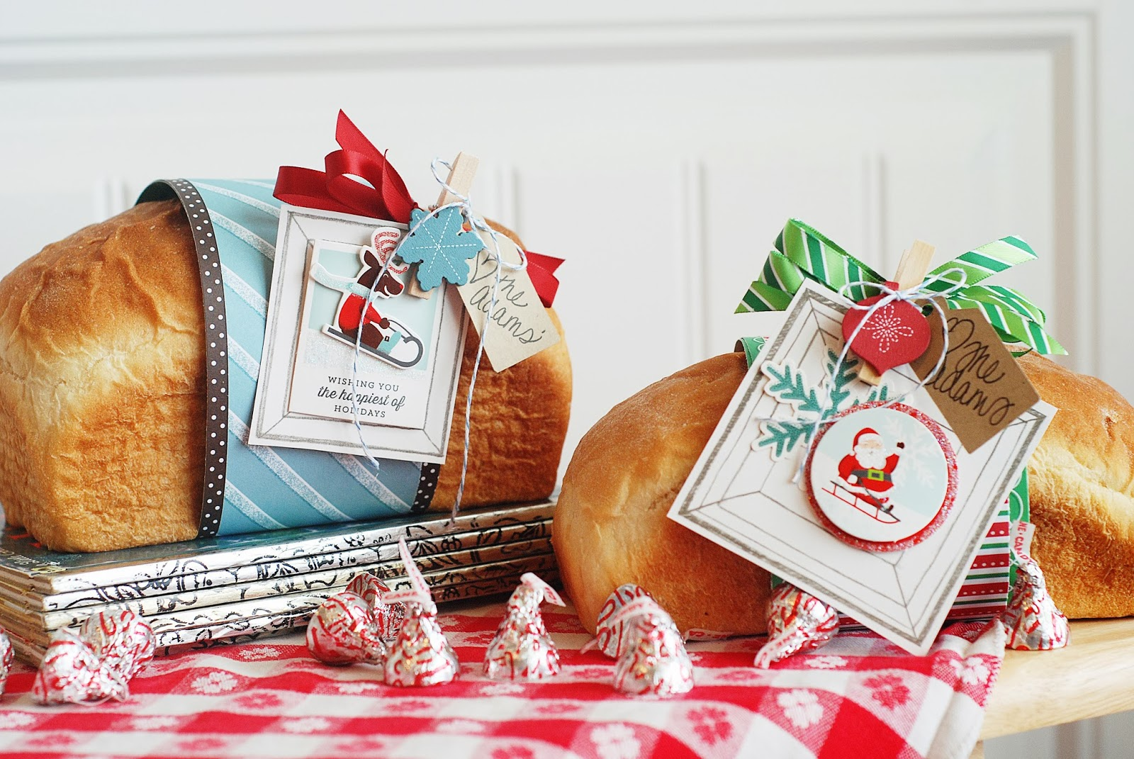 Gift wrapping ideas for home made baked goods - I Hope This Idea Helps You With Any Last Minute Gifts Merry Christmas