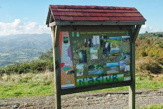 ruta del pico El Paisano a Gallegos,punto de partida