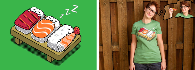 threadless - sushi 2