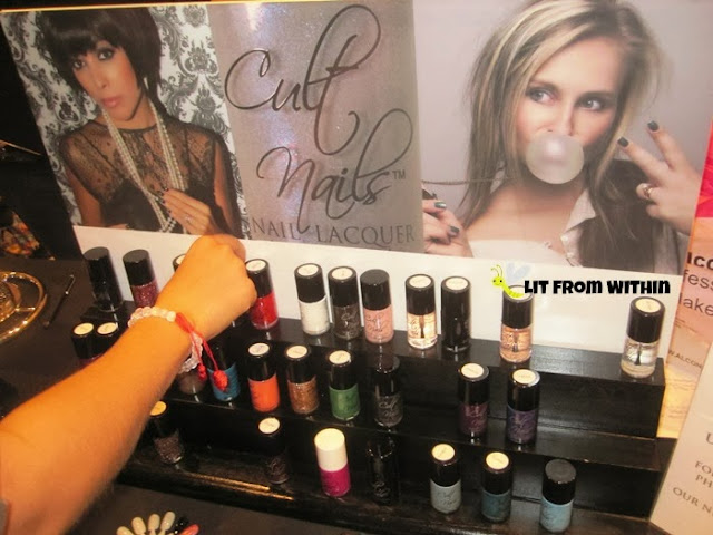 Cult Nails booth