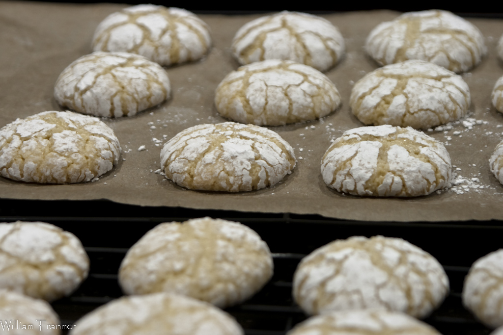 Dose of Frosting..: Crinkle and Amaretti Cookies